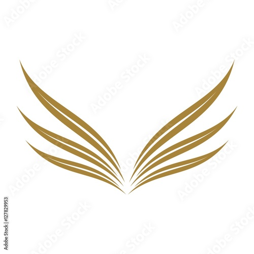 gold wing logo template stock image and royalty free vector files rh fotolia com goldwing logo images goldwing logo machine embroidery designs