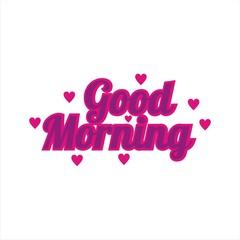 good morning greetings logo