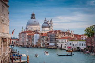 Aluminium Prints Venice The breathtaking beauty of Venice: Splendid Panorama over Canal Grande