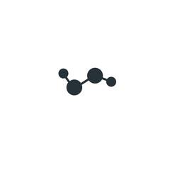 Hydrogen molecule, icon hydrogen, H2O2 hydrogen peroxide molecule