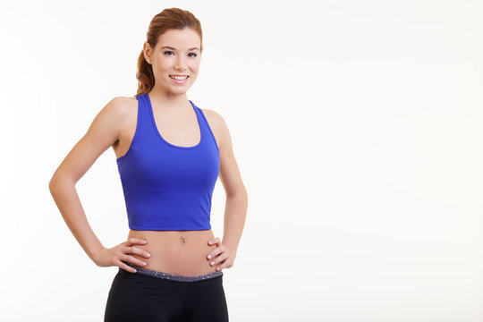 fit woman with her hands on hips
