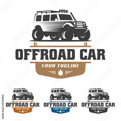 Off Road Car Logo Offroad Logo Suv Car Logo Template Off Road