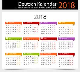 Search photos kalender 2018 deutsch kalender 2018 german calendar 2018 stopboris Image collections