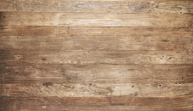 Vintage worn wooden boards