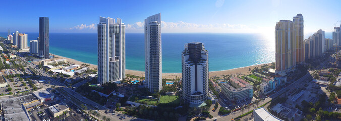 Aerial image of Sunny Isles Beach