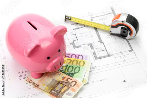 Co t immobilier pr t bancaire maison 3 imagens e fotos for Cout immobilier
