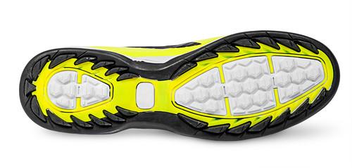 Rippled shoe sole