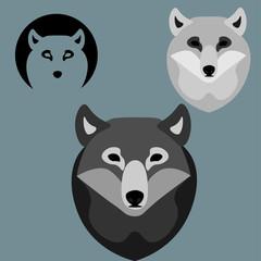 wolfs, logo element
