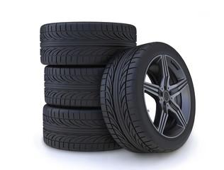 tires white