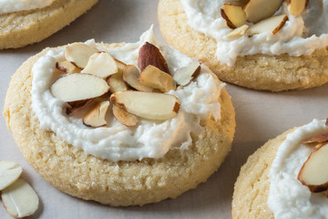 Almond Sugar Cookies