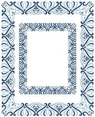 Classic central European style border design