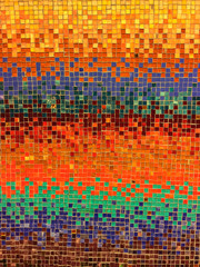 Colorful Wall Mosaic