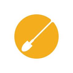 garden shovel isolated icon vector illustration design