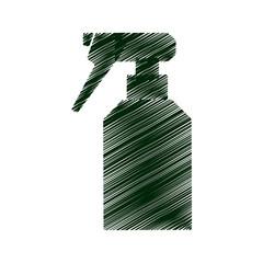 sprinkler bottle isolated icon vector illustration design