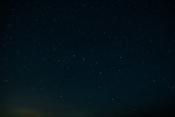 Constellation Ursa in the night sky