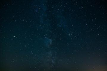 Nebula Milky Way in the sky