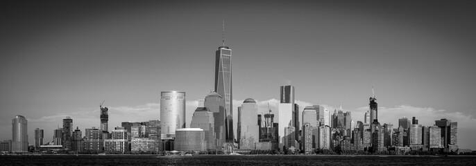 Manhattan Black and White