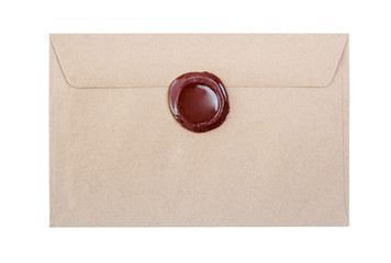 Post envelope on a white background.