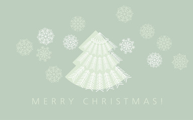 elegant pale green color christmas background. xmas faminin styl