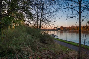 Schleuse am Wesel-Datteln-Kanal