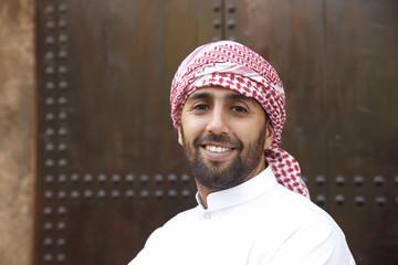 Young arabian man