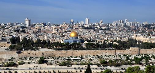 Jerusalem - Blick auf die Heilige Stadt