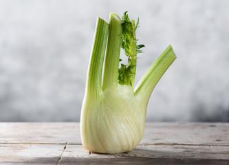 Fresh organic fennel