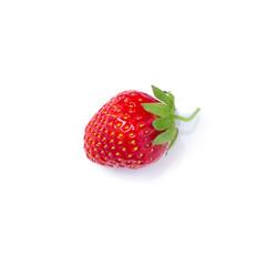 fresh juicy red strawberries