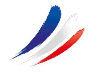Tricolore - Länderkennung von Frankreich, Fahne, Flagge, Symbol