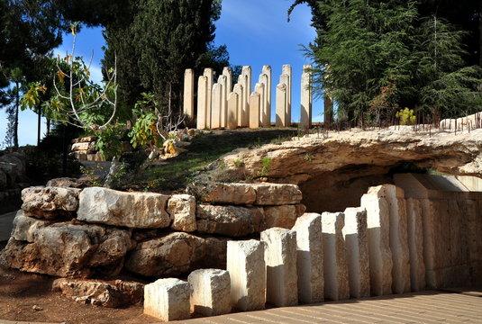 Jerusalem - Denkmal für die Kinder in Yad Vashem