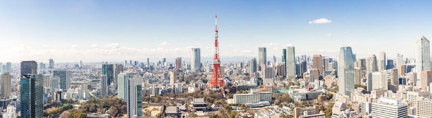 Foto op Canvas Tokio Tokyo Tower, Tokyo Japan