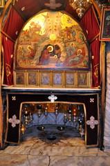 Geburtskirche in Bethlehem - Mit Stern markierte traditionelle Geburtsstelle Jesu Christi