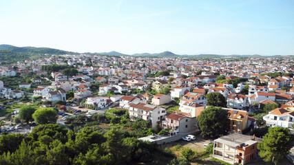 Cityscape of Vodice.