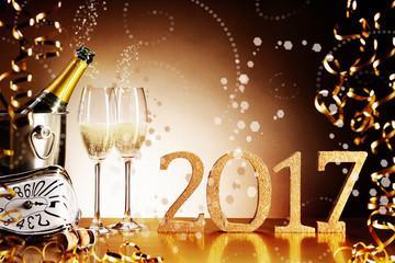 Celebrating 2017 New Years Eve