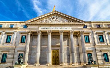 Congress of Deputies in Madrid, Spain