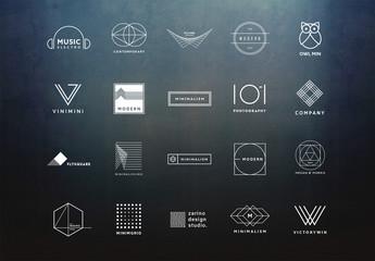 20 Minimalist Logo Layouts 4