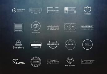 20 Minimalist Logo Layouts 5