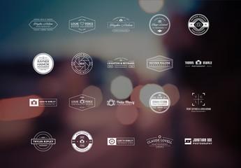 20 Photography Logo Layouts 3