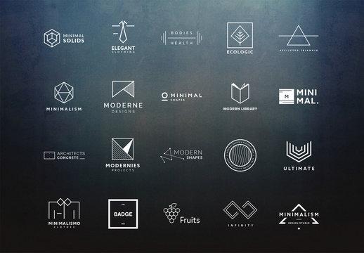 20 Minimalist Logo Layouts 3
