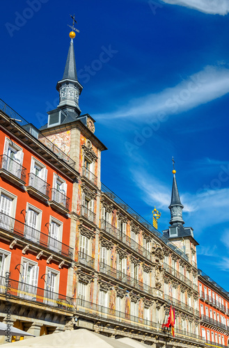 Casa de la panaderia on plaza mayor in madrid spain stock photo and royalty free images on - Casa de la panaderia madrid ...
