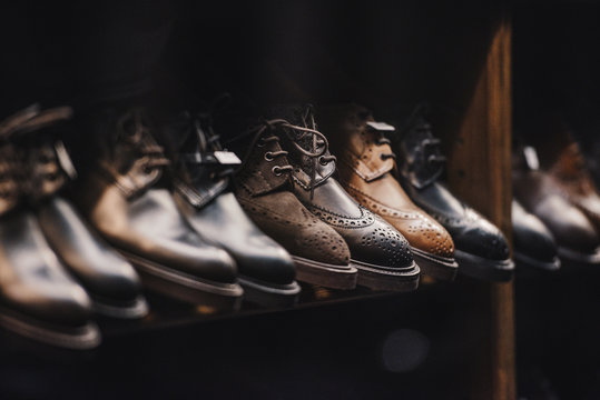 Man shoes store