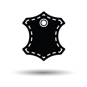 Leather sign icon