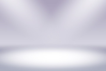 Simple white gradients light Blurred Background,Easy to make beauty pretty copy spaces as contemporary backdrop design
