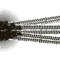 wheel print design over white background. vector illustration