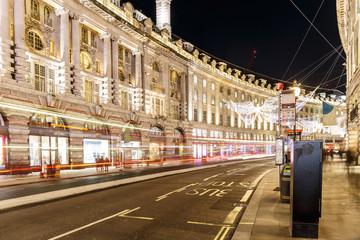 Christmas lights 2016 in  London