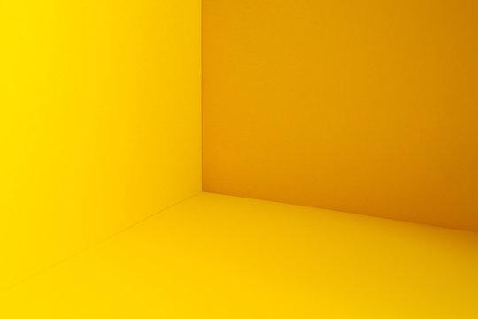 Yellow room  corner