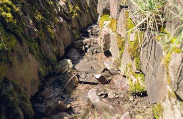 Оросительный канал в сельской местности