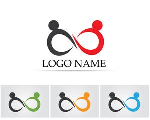 infinity people health  logo