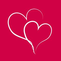 Cœurs enlacés