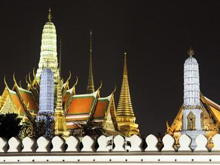 Temple of the Emerald Buddha.(Wat Phra Kaew.) Bangkok, Thailand.